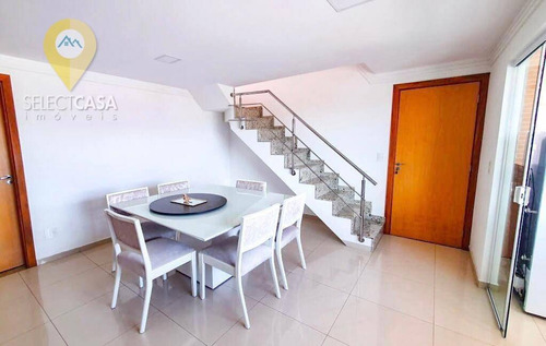 Imagem 1 de 5 de Cobertura Duplex Em Jardim Camburi 4 Quartos Sendo 2 Suítes - Co0022
