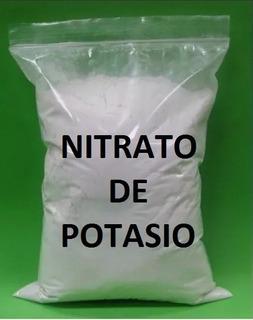 Nitrato De Potasio Potásico En Polvo 1 Kilo 99% Pureza