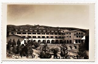 Cartao Postal Campos Do Jordão Grande Hotel - Anos 50
