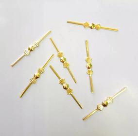 Gravata Dourada Para Lustre De Cristal Pacote C/800 Unidades