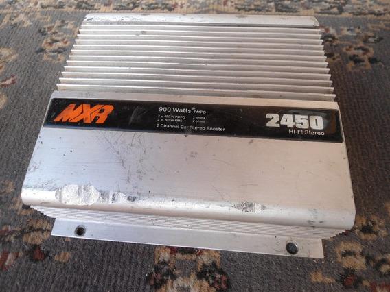 Potência Booster Mxr-2450 - 900 Watts Pmpo No Estado