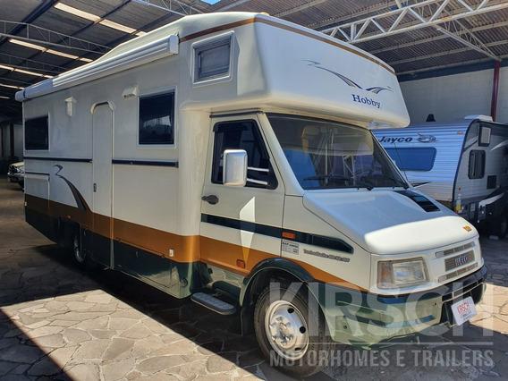 Motorhome Iveco Hobby 4912 - Trailer - Y@w5