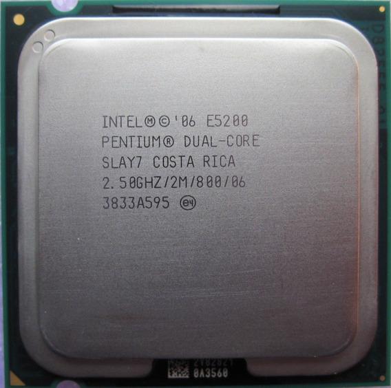 Processador Intel 775 Dual Core Original E5200