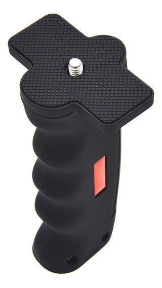 Câmera Grip Handle Estabilizador Com 1/4 parafuso Para S
