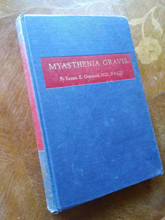 Kermit E. Osserman - Myasthenia Gravis. Miastenia. En Inglés