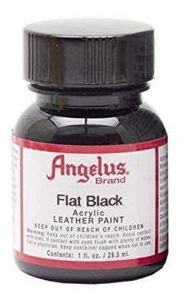Pintura Angelus Flat Black 1 Oz