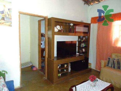Casa Com 3 Dormitórios À Venda, 90 M² Por R$ 160.000 - Veraneio Ijal - Jacareí/sp - Ca0263