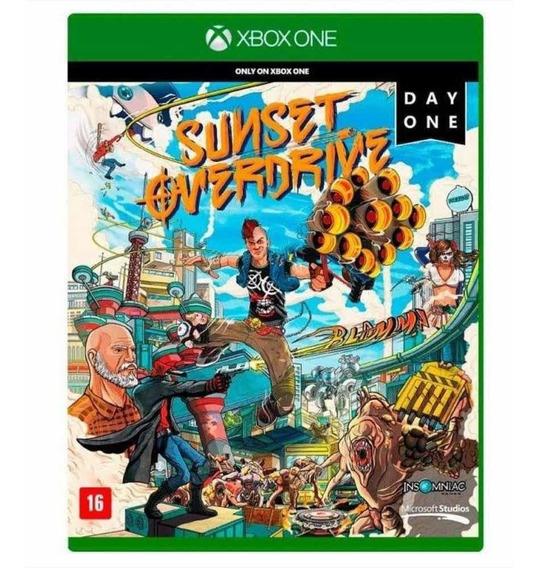 Jogo Sunset Overdrive Day One - Mídia Física Xbox One