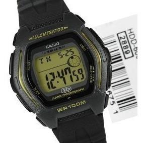 Relógio Masculino Casio Hdd 600 Illuminator Digital Nf-e