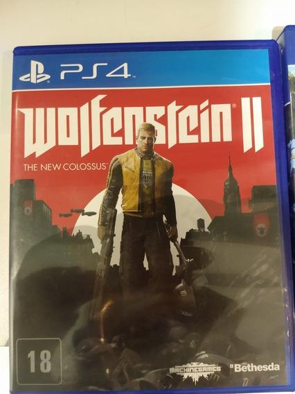 Wolfenstein 2 The New Colossus, Ps4 Mídia Física