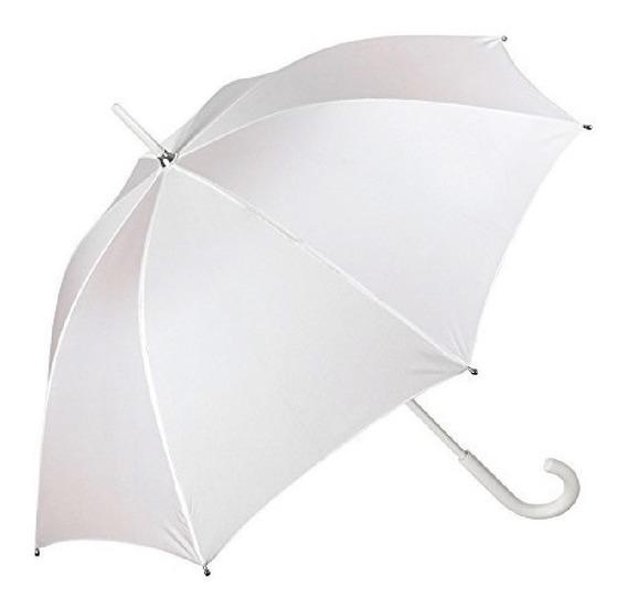 Sombrilla Blanca Boda (paraguas)