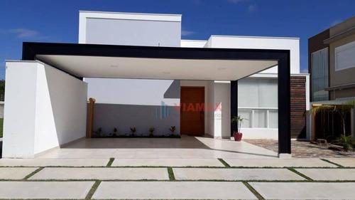 Imagem 1 de 29 de Casa Nova, Alto Padrão E Localização Privilegiada. - Ca0652