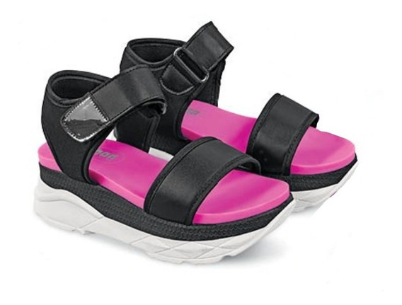 Calzado Zapato Dama Mujer Color Negro Plataforma 5 Cm Comodo
