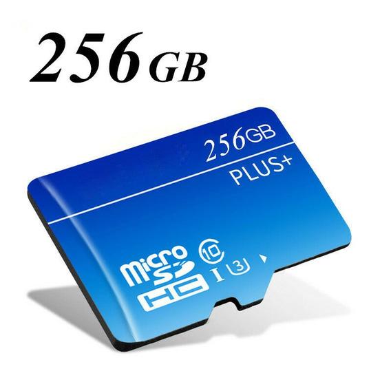 Cart?o De Memoria Micro Sd Hc Com Adaptador 256gb