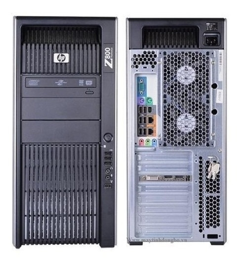 Hp Workstation Z800 2 Intel Sixcore 1tb Sata 16 Gb Ram