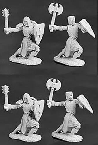 Caballeros Templarios 4 Unidades