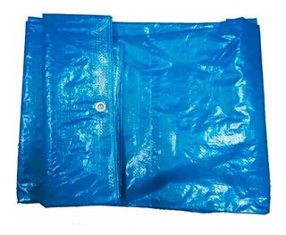 Lona Plastica Encerada Azul 70g 10x5m Promoção