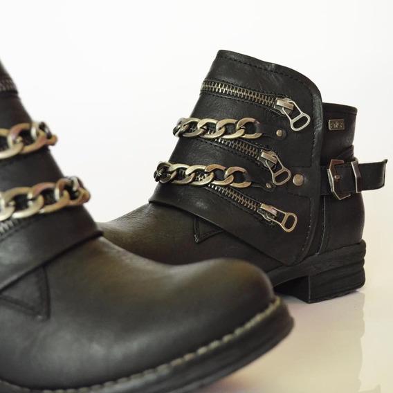 Botas Borcegos Mujer Anca & Co Art Nina Zona Zapatos
