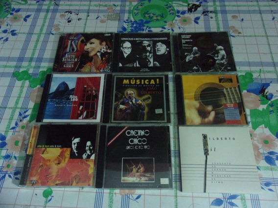Lote Musica Brasileña Bossanova 9 Cds Impecables