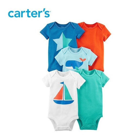 Kit Com 5 Body Carter´s