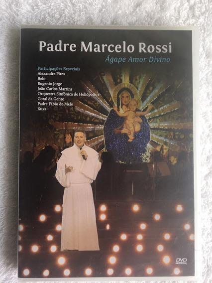 Dvd Padre Marcelo Rossi - Ágape (novo) Frete Grátis