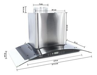 Campana Extractora De Cocina 90 Cms Tipo Pared Touch %sale%