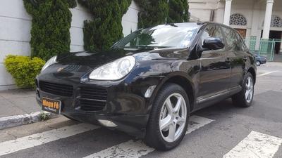 Porsche Cayenne 4.5 S V8 Tiptronic 2005 Preto Completo