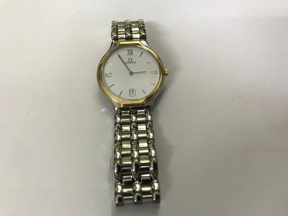 Relógio Omega De Ville 1449 Moldura Ouro 18k