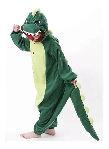 Pijama Mameluco Dinosaurio Infantil Envío Gratis//1