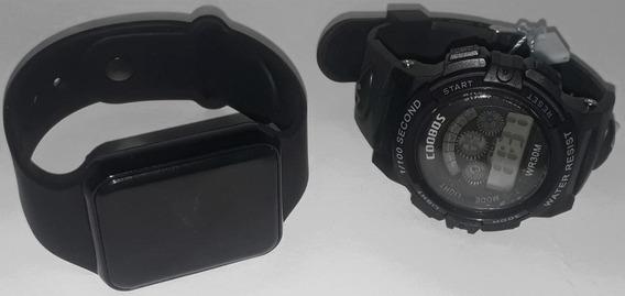 Relógio De Pulso Kit Casal Feminino Masculino Promoção