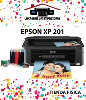 Impresora Epson Xp 201 Para Sublimado Poco Uso