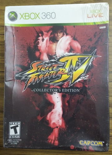 Street Fighter Iv. Collector´s Edition. Xbox 360. Nuevo/sell