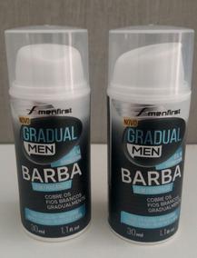 Combo 2 Balmes Escurecedor De Barba Gradual Men