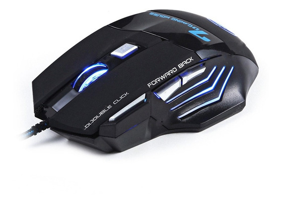 Mouse Gamer Usb 3.0 Óptico Pc 3200 Dpi Led 7d Rgb