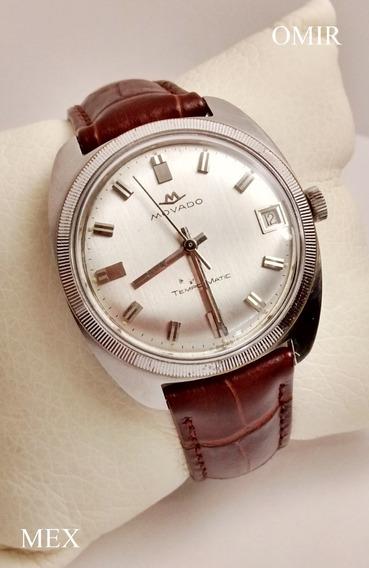 Reloj Movado Zenith Tempomatic Acero 35 Mm Vintage Video