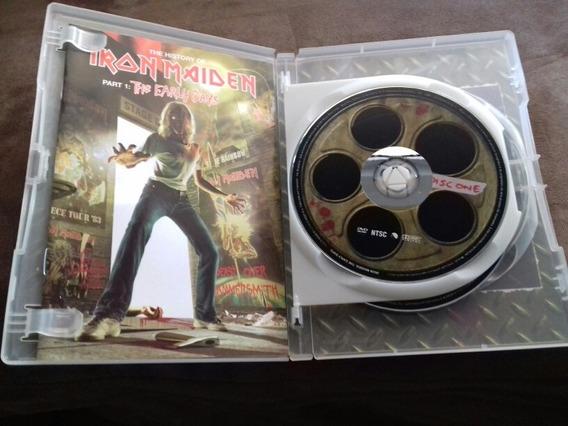 Dvd Iron Maiden - The Early Days Duplo Part 1 História