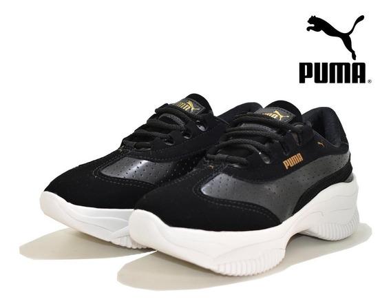 Moda Feminina Sapatenis Puma Plataforma Lançamento