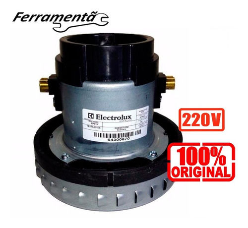 Imagem 1 de 8 de Motor Original Aspirador Pó Água Electrolux Bps1s 220 C Nf