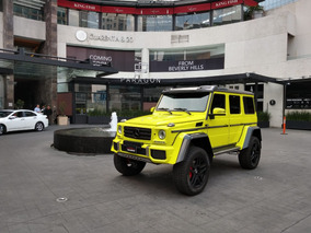 Mercedes-benz G500 4x4 2016 Amarillo