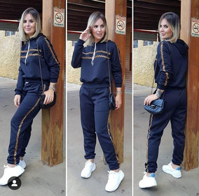 Conjunto Moletom Metalasse Feminino Inverno Lançamento 2019