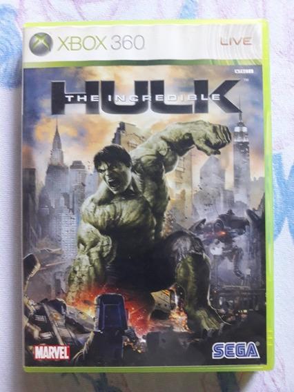 The Incredible Hulk Xbox 360 (asiático,leia A Descrição)