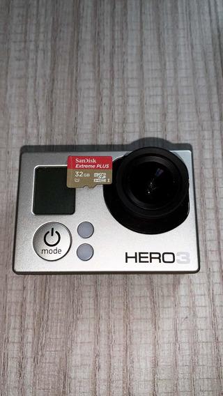 Gopro Hero 3 + Cartão 32gb + Acessórios Originais