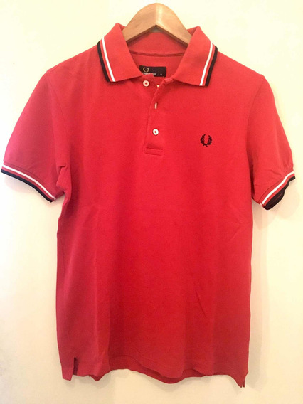 Chomba Polo Fred Perry Red Cherry