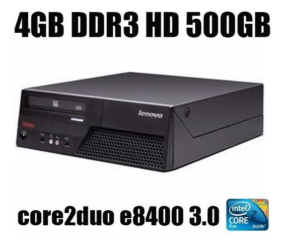 Computador Lenovo Mt-m6234 Core2duo 3.0 Hd500gb 4gb Ddr3