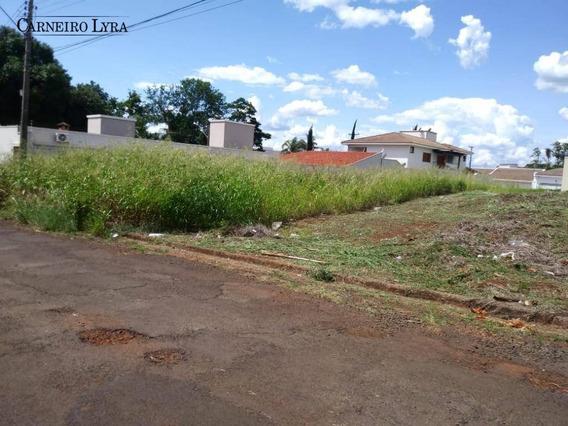 Terreno À Venda, 561 M² Por R$ 250.000 - Jardim Chácara Auler - Jaú/sp - Te0076
