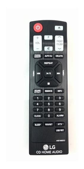 Controle Original Lg Akb74955312 Mini Hi-fi Cm4460 Cm4560