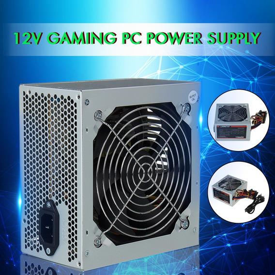 550 W Para Intel Amd Pc 12 V Atx Pc Fonte De Alimentação Sli
