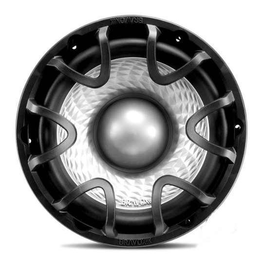 Subwoofer Bravox 12 500w Rms Uxp 12d Bobina Dupla 4 Ohms 4x4
