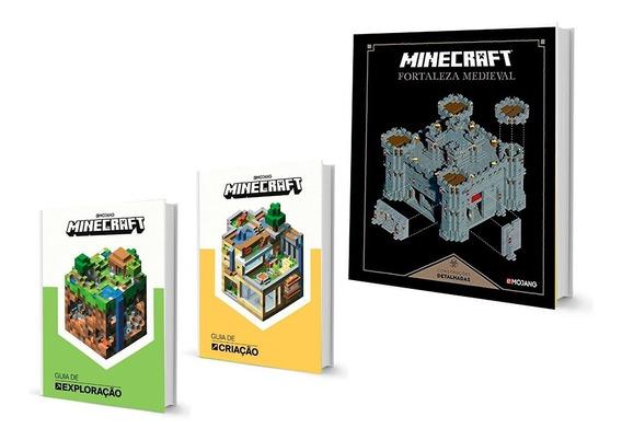 Minecraft Guia Criação Exploração Fortaleza Medieval