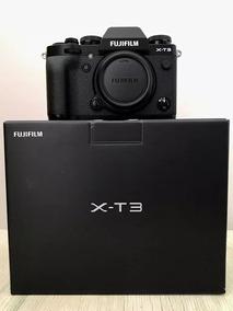 Camera Fuji X-t3 /fujifilm X-t3 Preta / Prata